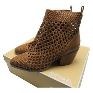 Michael Kors Augustine Woven Ankle Mid Bootie